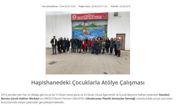 istanbuldaki çocuk ceza infaz kurumu